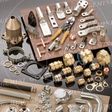 Ferrous, Non Ferrous Metal Electrical Cable Wiring Accessories