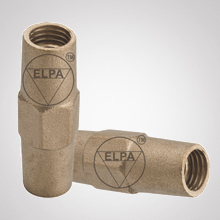 Coupling For Threaded Copper Bond Earth Rod
